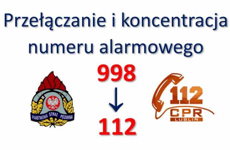 Przeniesienie numeru 998 do WCPR