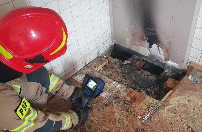 Pożar w budynku mieszkalnym w Rogoźnicy – Kolonia