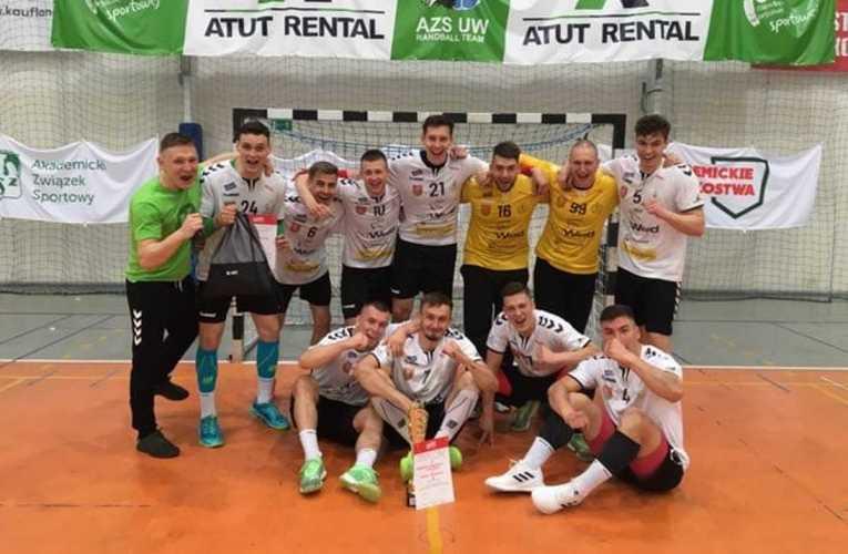 Szczypiorniści AZS wygrali turniej półfinałowy Akademickich Mistrzostw Polski