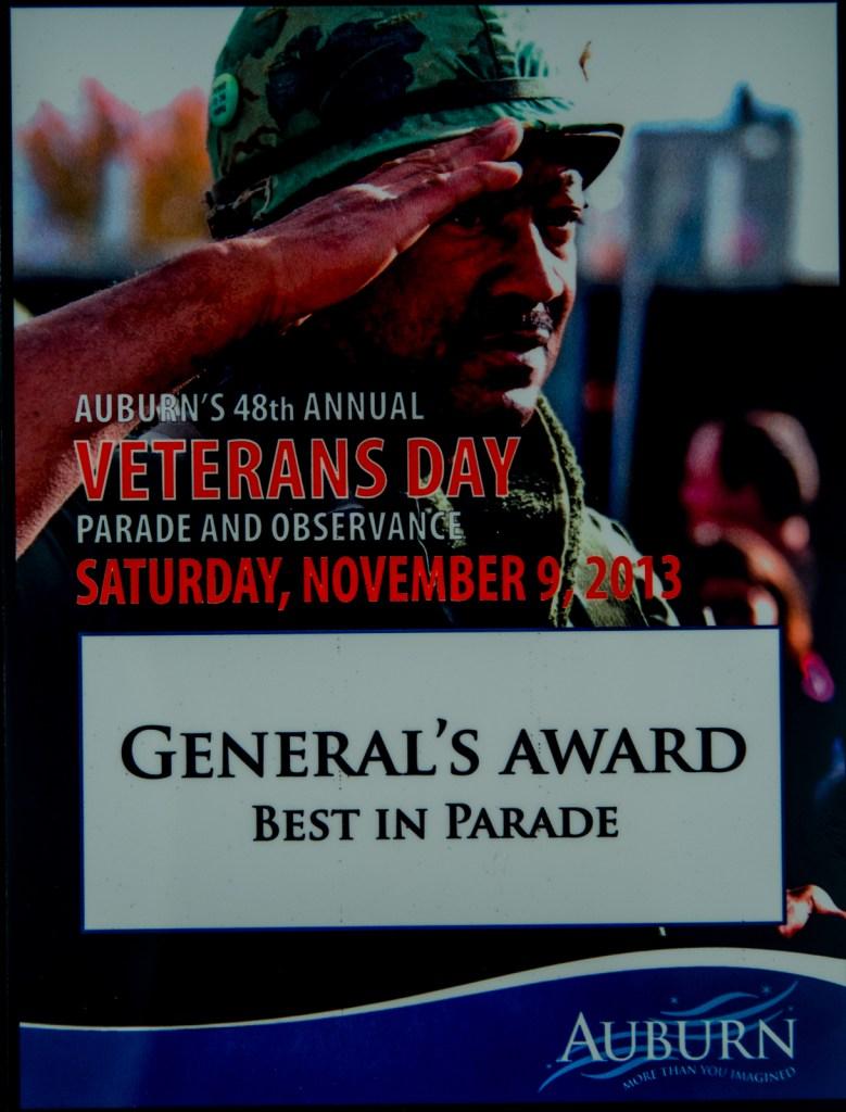 2013 General's Award