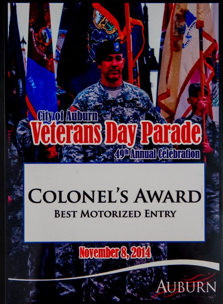 2014 Colonel's Award