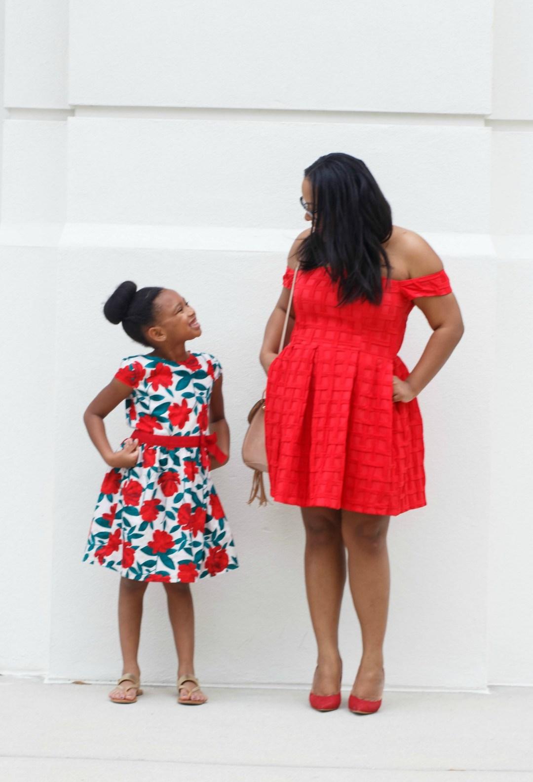Mama + Me: Galentine's Day Look | Bianca Dottin