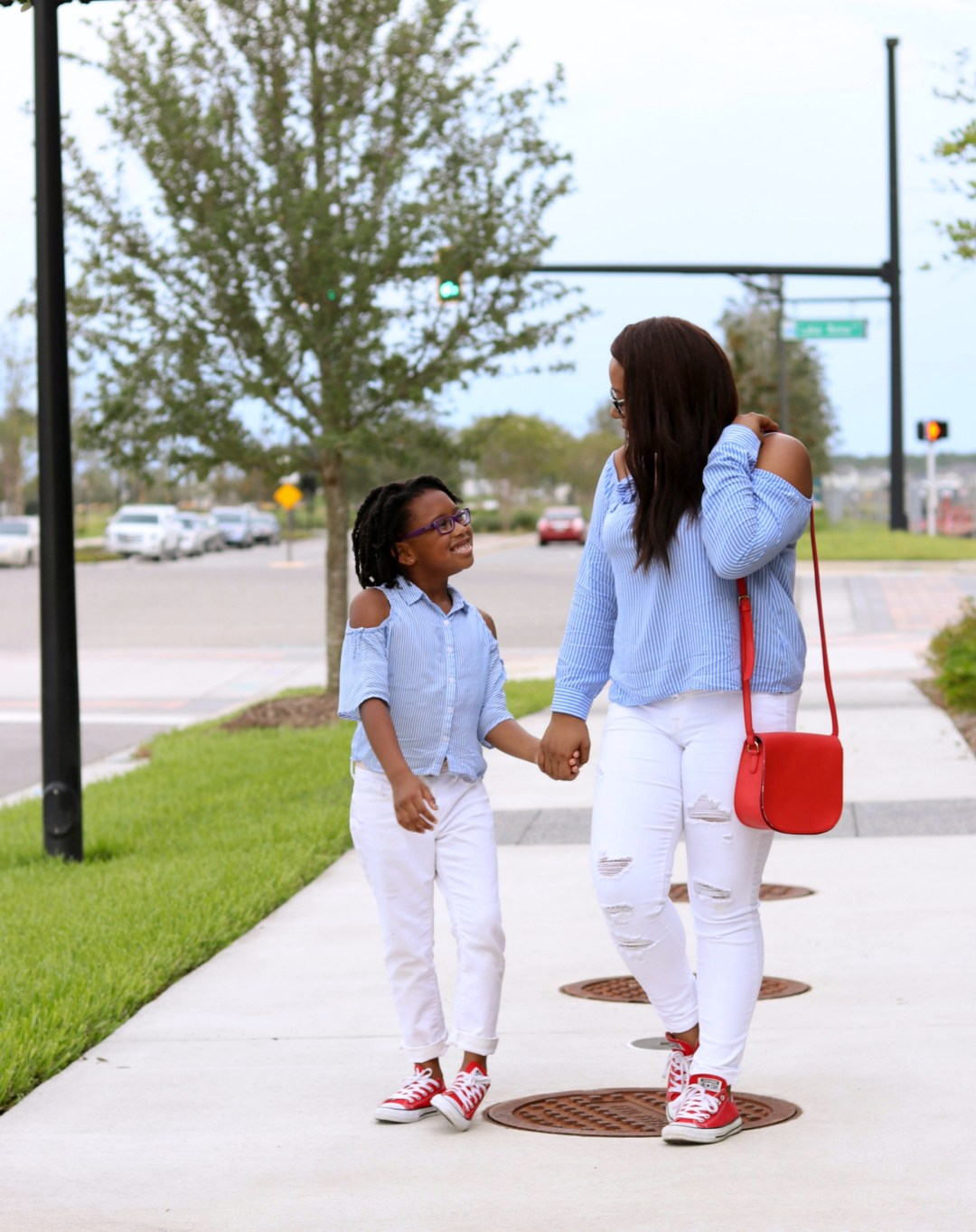 Red, White, & Blue Labor Day Outfits | Bianca Dottin