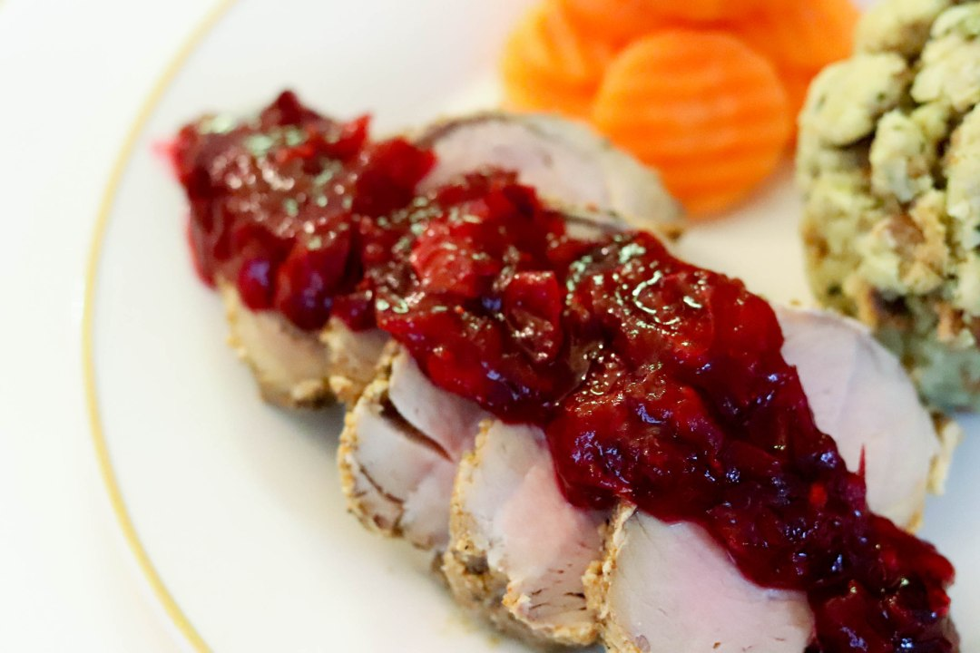 Taste of Now Cranberry Pork Loin Recipe   Bianca Dottin