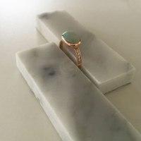 Opal Ring in Rose Gold - Bianca Jones British Jewellery