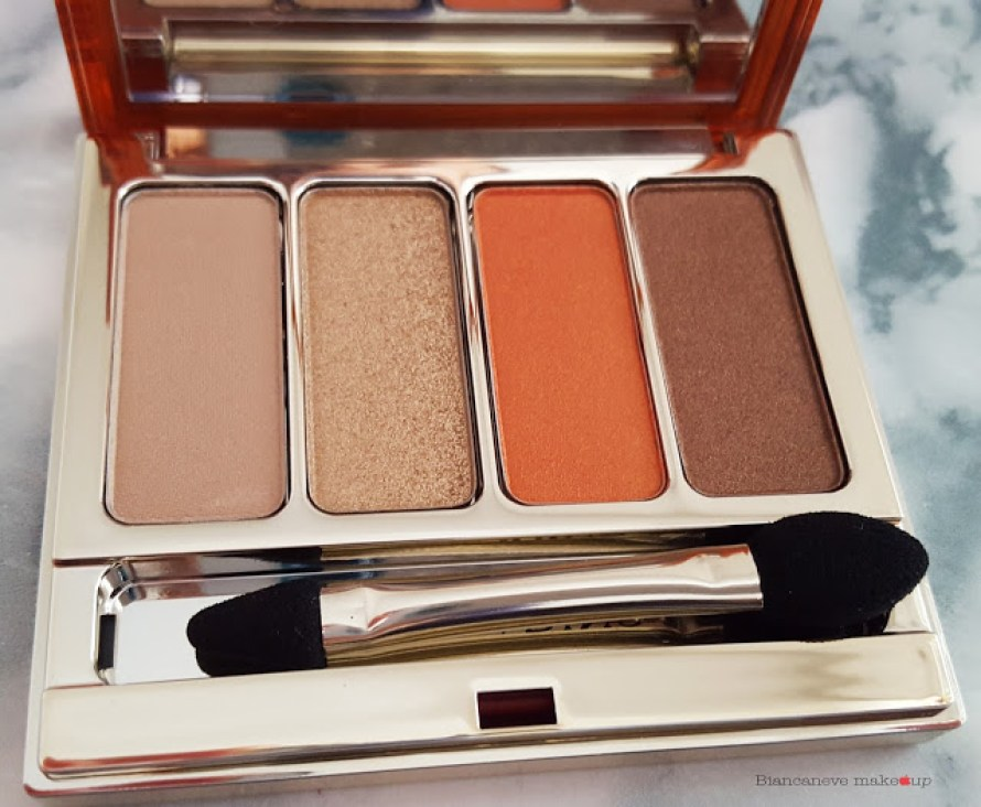 Clarins collezione Sunkissed Palette Yeux 4 Couleurs