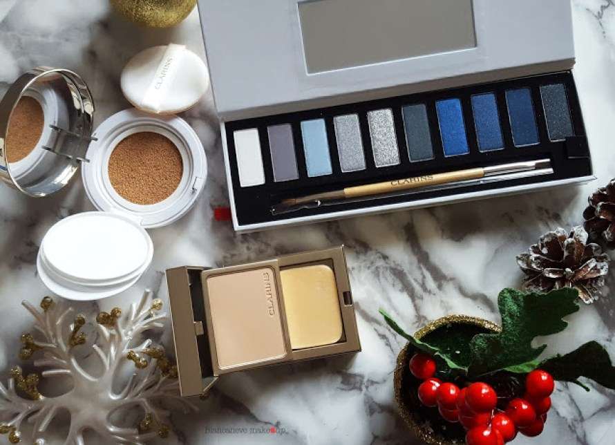 Palette The Essentials e fondotinta Cushion ed Everlasting Compact Clarins