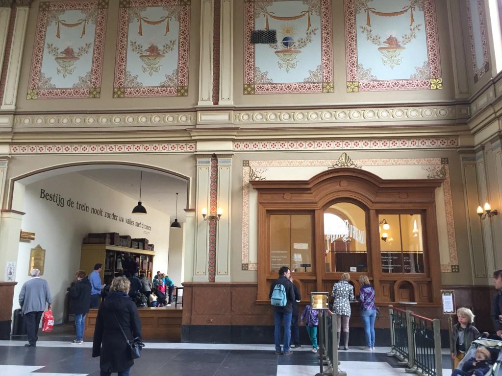 Entree van Het Spoorwegmuseum
