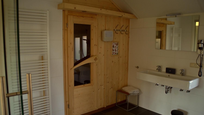 sauna 2p vip huisje parc sandur