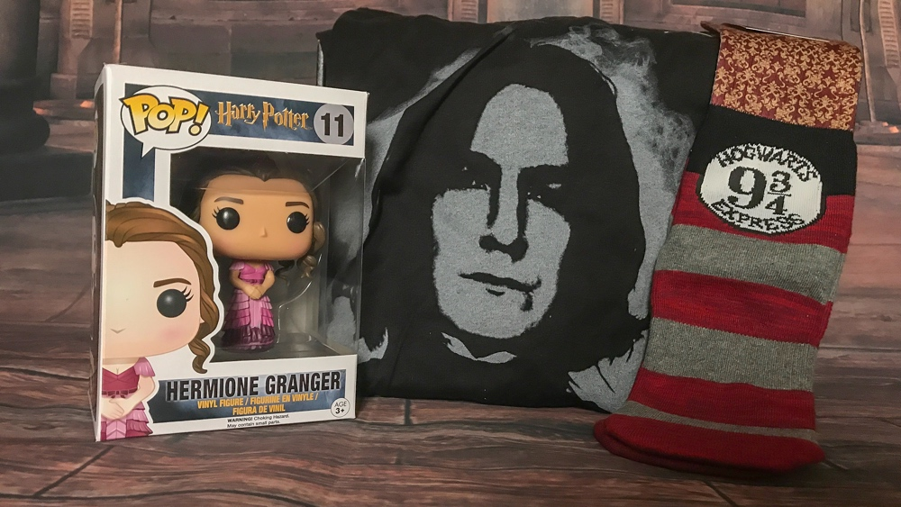 Wizarding world Loot Crate items