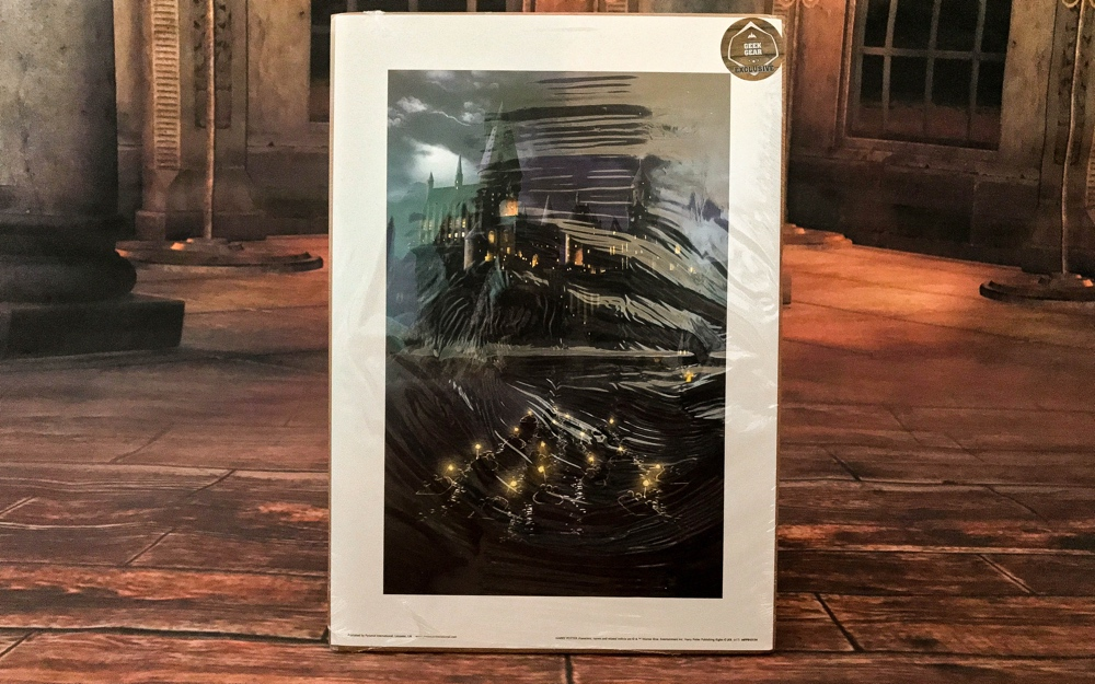 World of wizadry geek gear box harry potter artplate