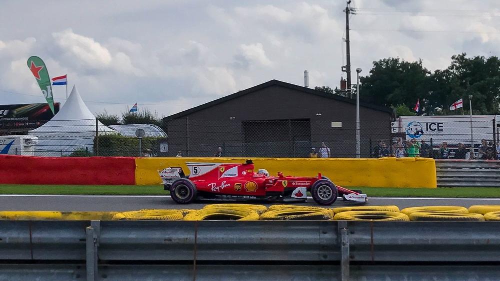 Spa Francorchamps - Kimi Raikkonen