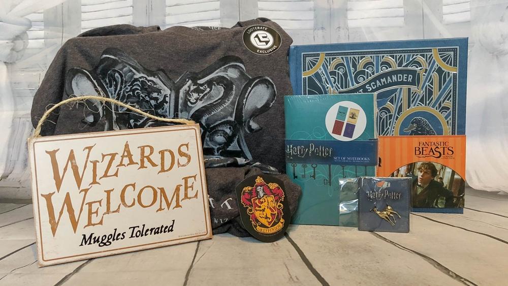 loot crate wizarding world box inhoud