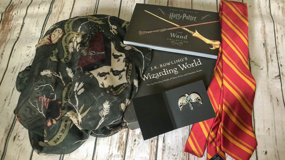 loot crate wizarding world inhoud