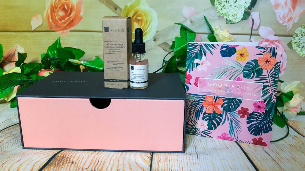 dr botanicals moroccan rose superfood facial oil Goodiebox juli 2018