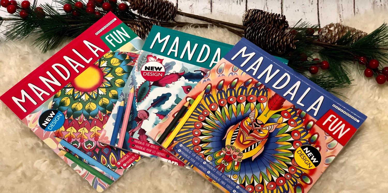 Header mandala kleurboek van de action