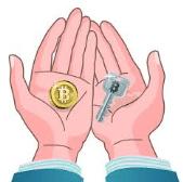 bitcoin security key's bestebank.org