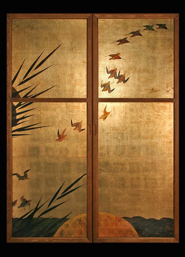 Porte Dec periodo edo giapponese arredo e design made in