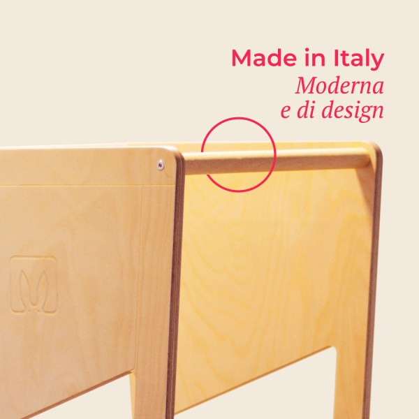 moka transparent made italy