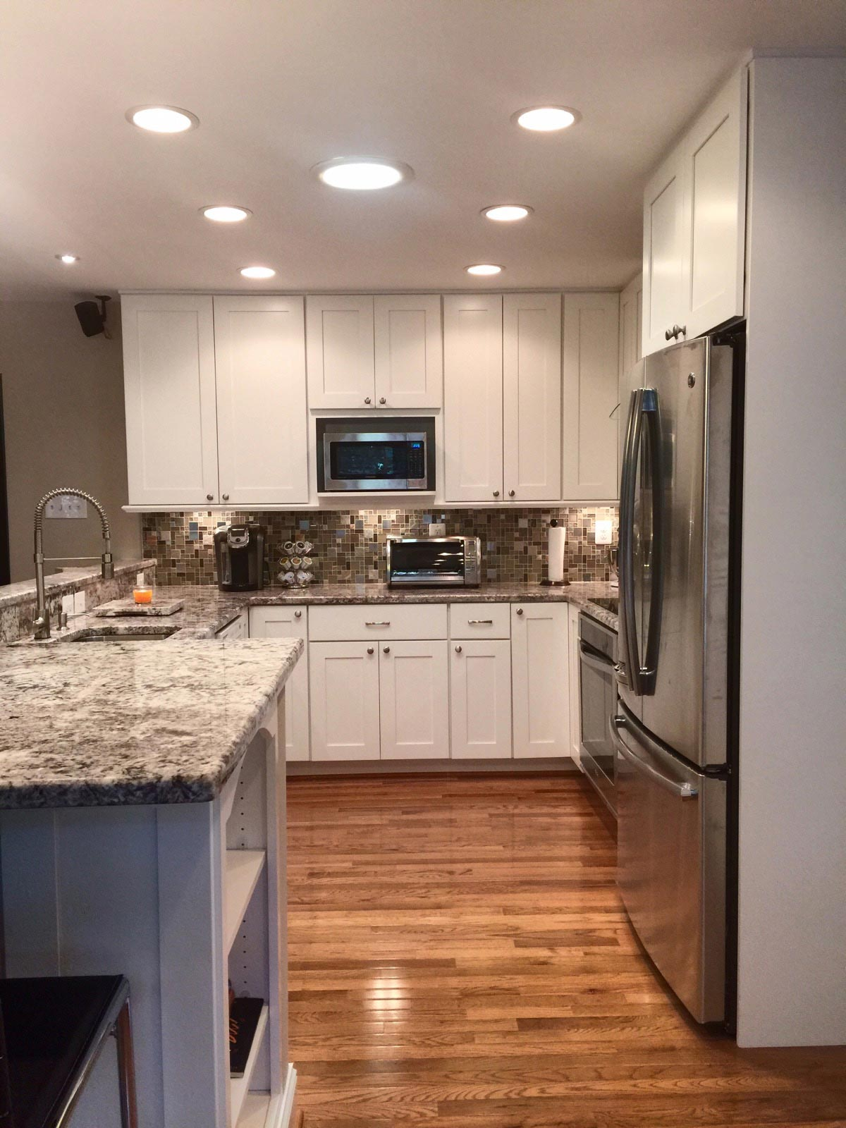 kitchen remodeling fairfax va island top remodel bianco renovations completed