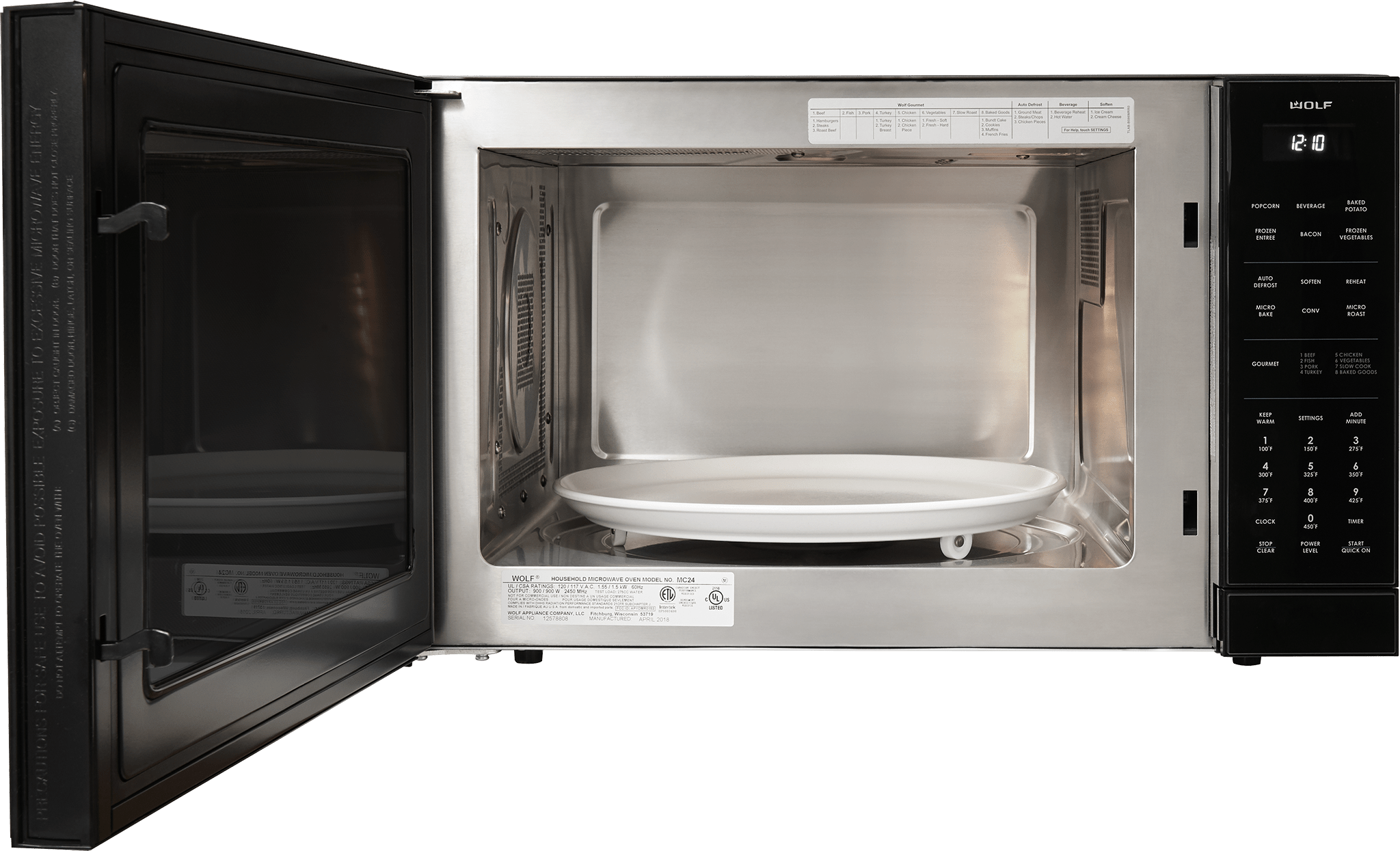wolf mc24 24 convection microwave oven