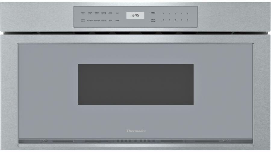 built in microdrawer microwave