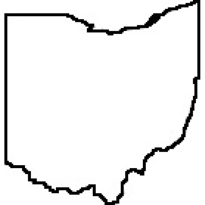 Ohio Outline Png
