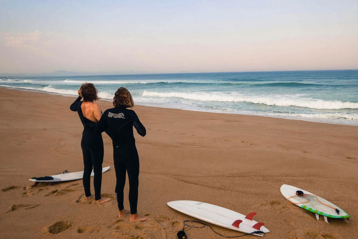 Surf with a local guide in Biarritz Basque Country