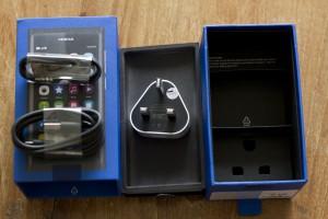 Nokia N9 Box & Stuff In It
