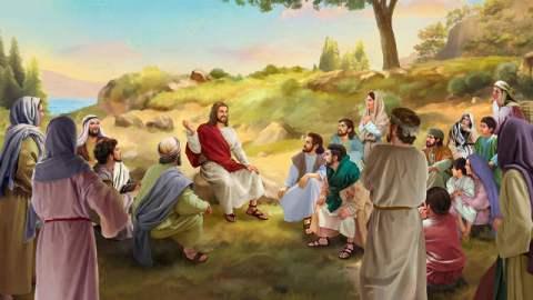 montagna,Gesù,Pietro,discepoli,
