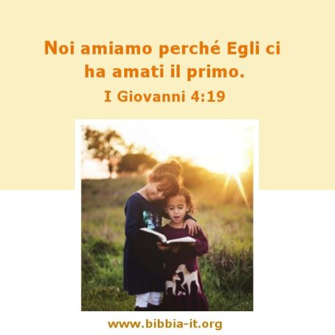 i bambini vivono nella luce di Dio
