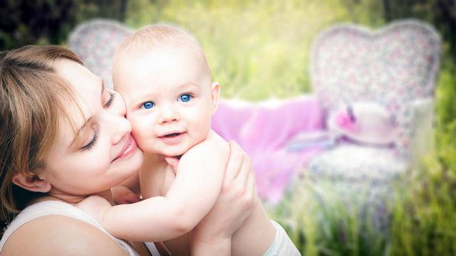 Una mamma e un bambino loro destino nelle mani di Dio