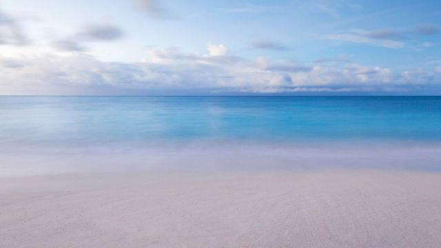 Il mare creato da Dio fornisce umanità