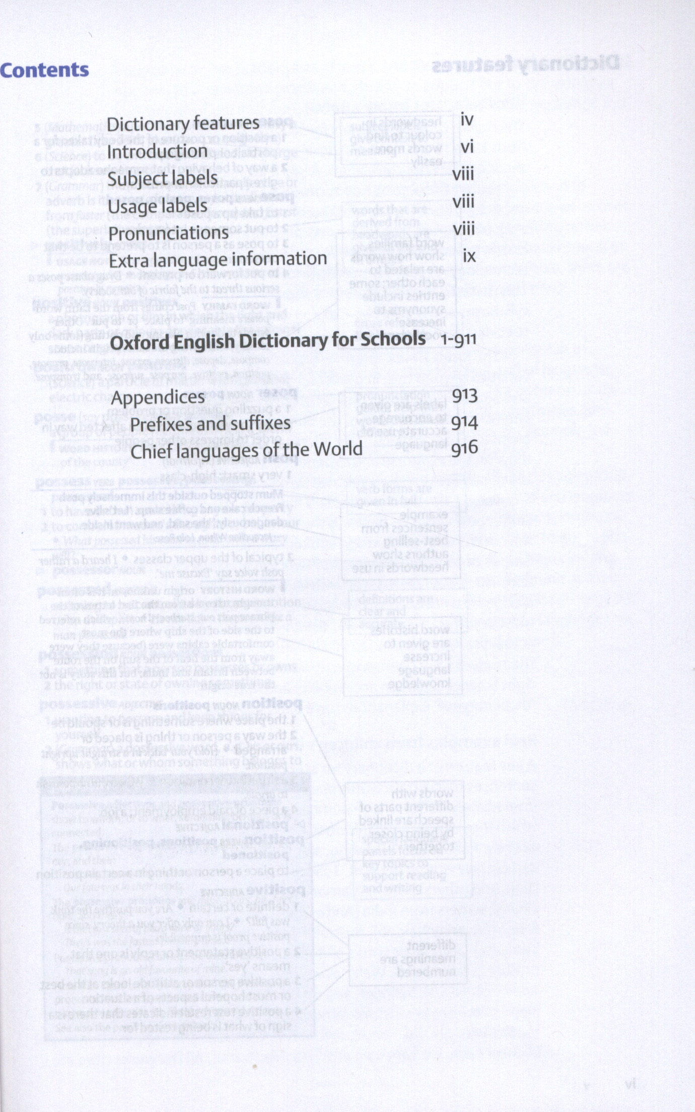 Oxford English dictionary for schools by Oxford