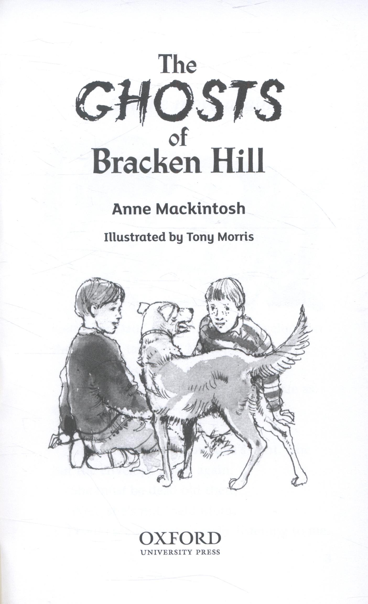 The ghosts of Bracken Hill by Mackintosh, Anne