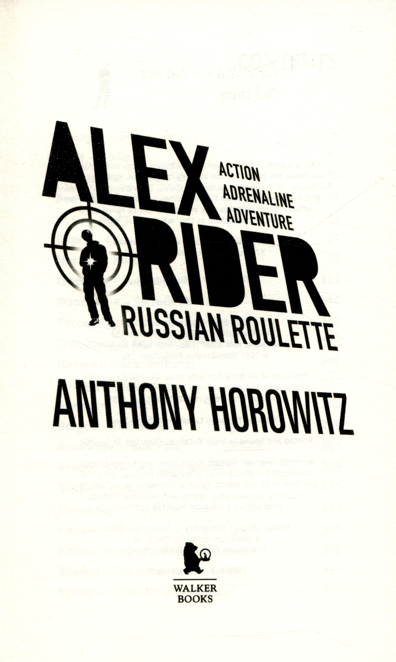 Russian roulette by HOROWITZ, ANTHONY (9781406360288