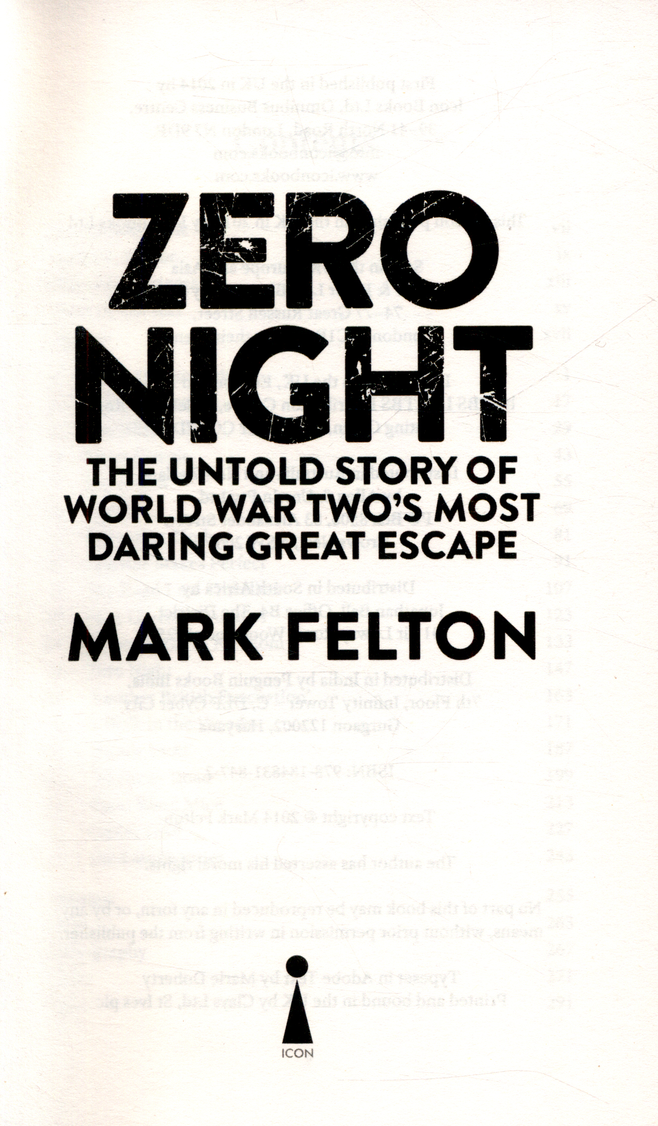 Zero night : the untold story of World War Two's most