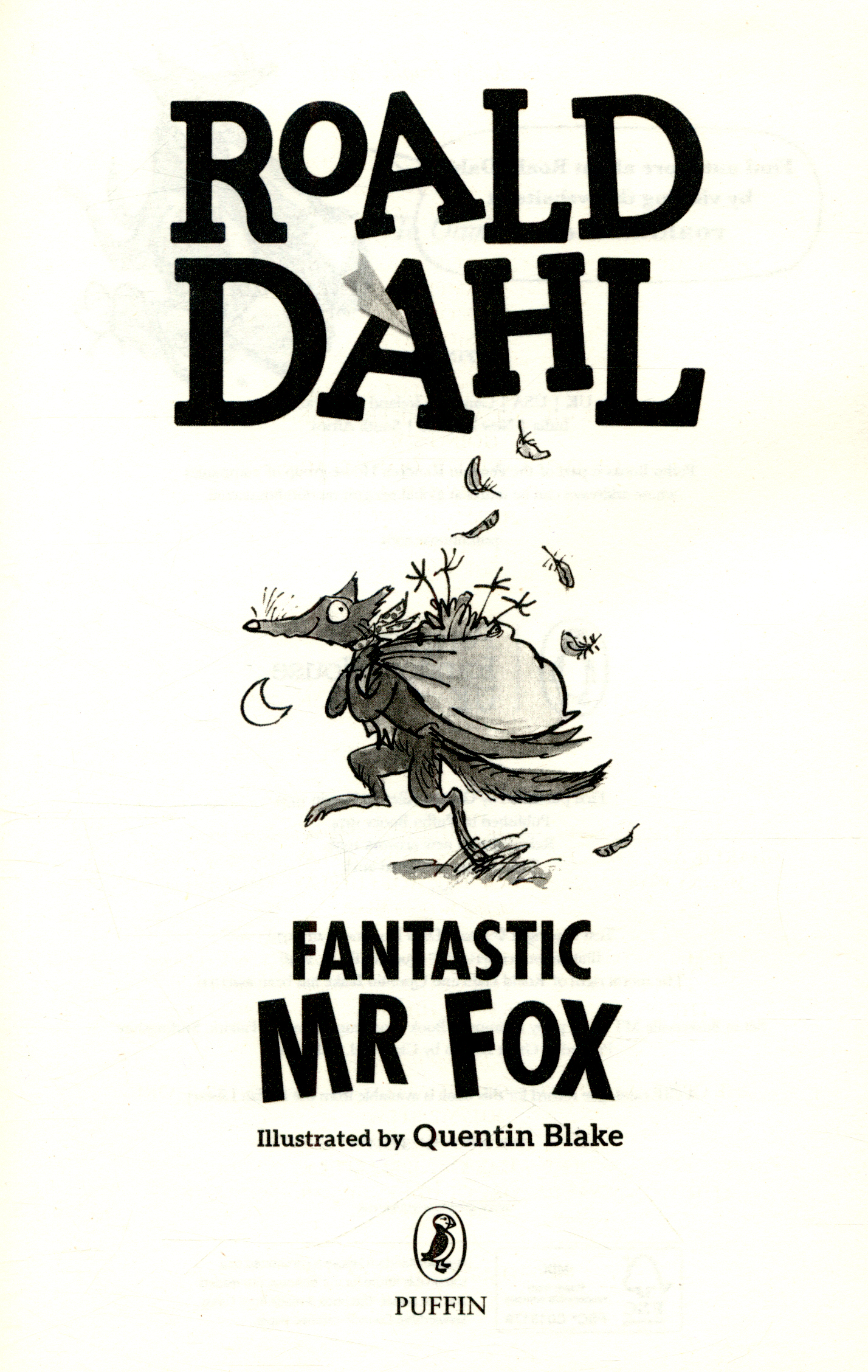 Fantastic Mr Fox By Dahl Roald