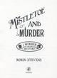 Mistletoe and murder by Stevens, Robin (9780141369723
