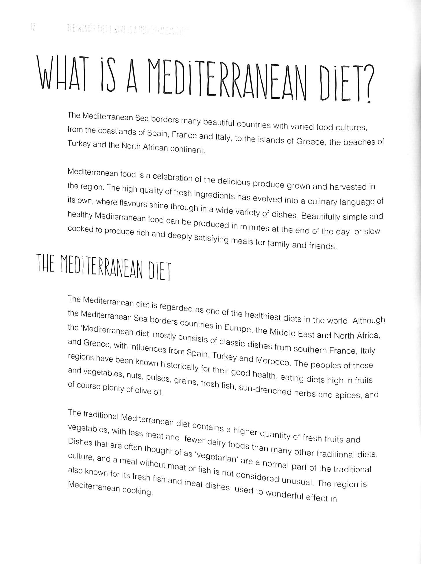 Mediterranean diet : recipes & preparation by Fraser