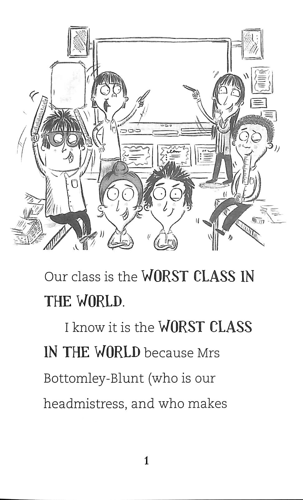 The worst class in the world by Nadin, Joanna