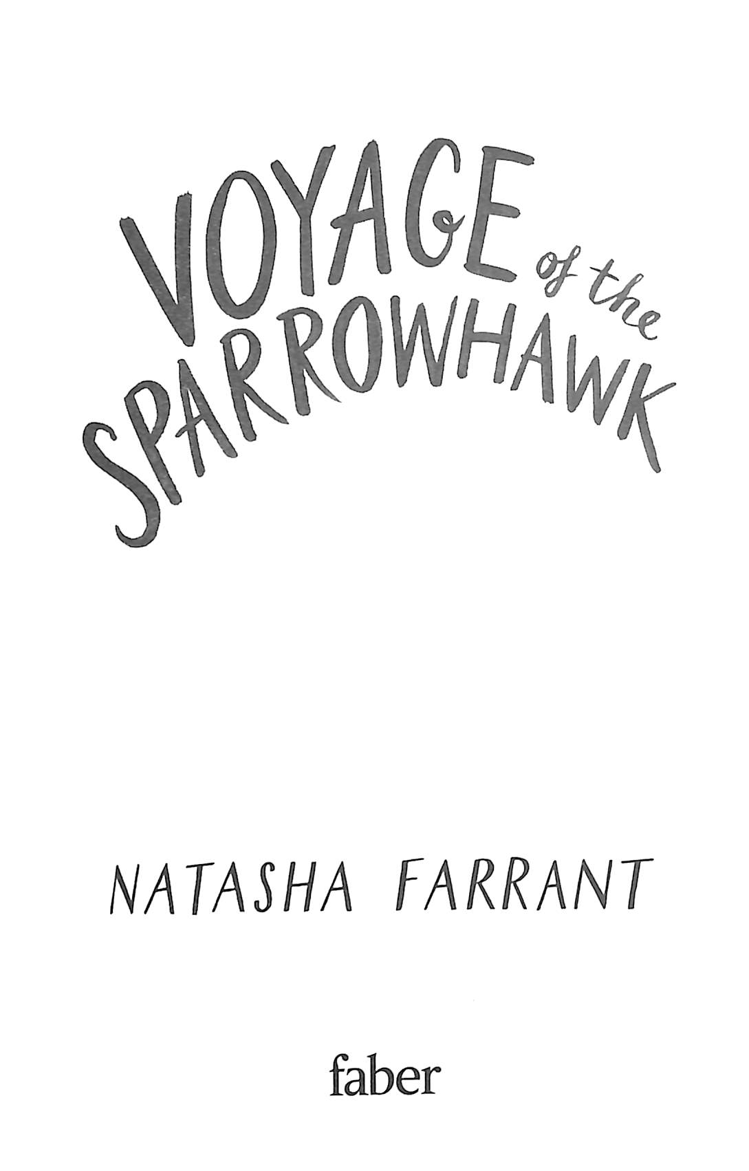 Voyage of the Sparrowhawk by Farrant, Natasha (Literary