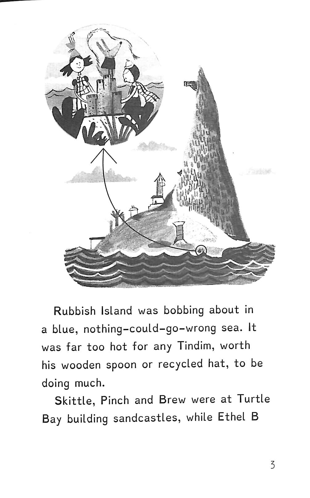 The Tindims and the turtle tangle by Gardner, Sally