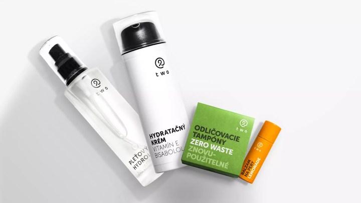 produkty slovenskej značky Two cosmetics