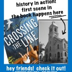 Bibi Belford Crossing the Line book first scene happens in Chicago historical fiction two friends