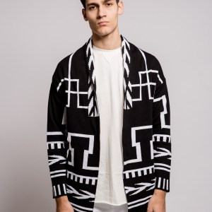 WHY NOT - Cardigan geometrico