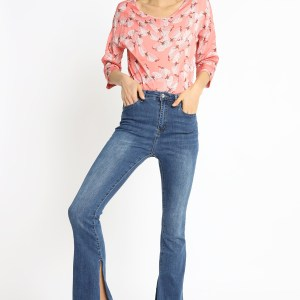 SUSY MIX - JEANS A ZAMPA CON SPACCO