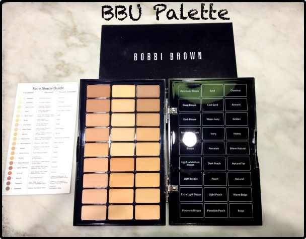 BBU PALETTE de Bobbi Brown