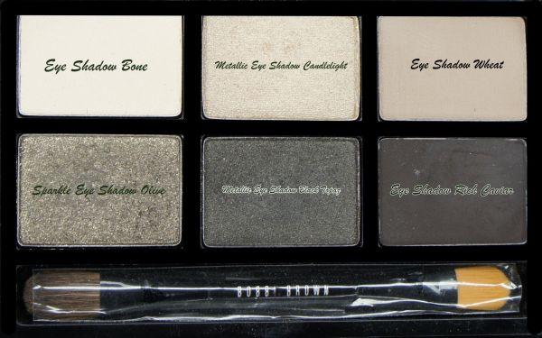 sombra de ojos Rich Caviar de Bobbi Brown.