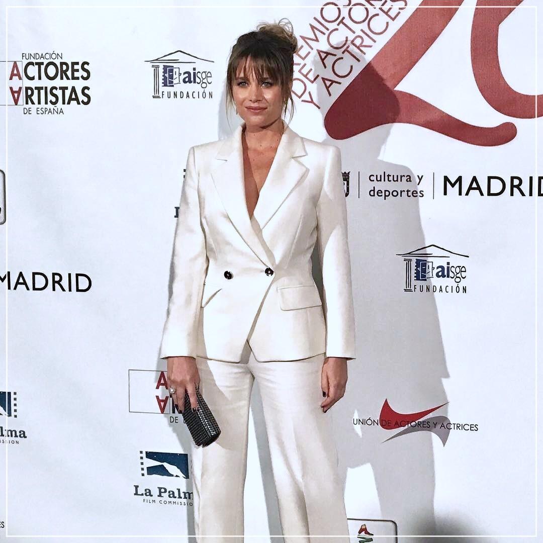 Maquillaje a Lisi Linder - Premios Unión de actores
